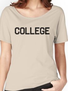 College | Animal House Shirt Women's Relaxed Fit T-Shirt
