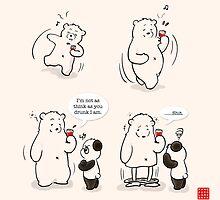 Drunk As A Polar Bear by Panda And Polar Bear
