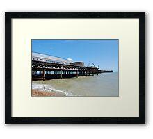 Hastings pier renovation Framed Print