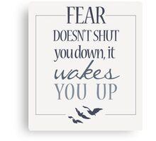 Fear | Divergent  Canvas Print