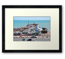Hastings pier, East Sussex Framed Print