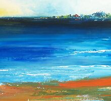 Blue mist over Nantucket Island by Conor Murphy