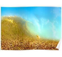 Wheat Wave Poster