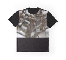 Bare Branches in Snow Graphic T-Shirt