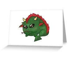 Chibi Dragon Greeting Card
