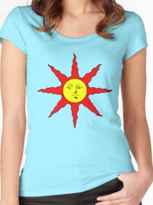 Solaire of Astora - DS Women's Fitted Scoop T-Shirt