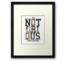 ''The Notorious'' Conor Mcgregor Framed Print