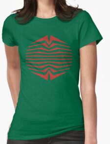 Visual trip Womens Fitted T-Shirt