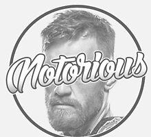 ''Notorious'' Conor McGregor by Itsjustrob