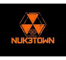 CoD Nuketown Bo 3 Logo Photographic Print