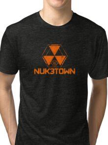 CoD Nuketown Bo 3 Logo Tri-blend T-Shirt