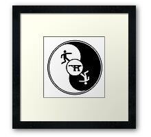 The Runaway Logo Framed Print