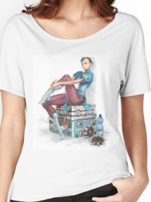 Chun-li Women's Relaxed Fit T-Shirt