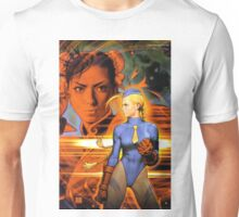 Cammy and Chun li Unisex T-Shirt