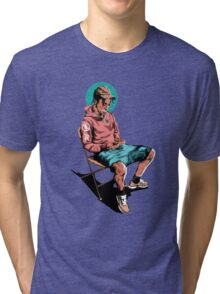 TRAVIS $COTT Tri-blend T-Shirt