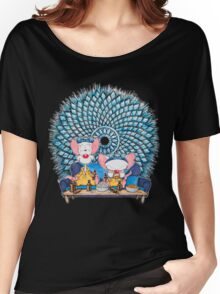 Pinkman and the Brain Women's Relaxed Fit T-Shirt