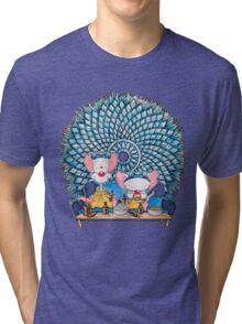 Pinkman and the Brain Tri-blend T-Shirt