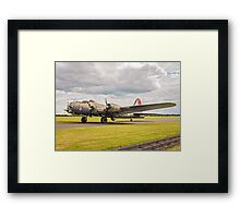 "Boeing B-17G Fortress II F-AZDX ""Pink Lady/Mother and Country"" Framed Print"
