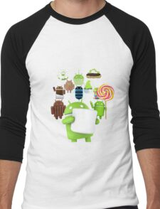 11 Androids Men's Baseball ¾ T-Shirt
