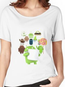 11 Androids Women's Relaxed Fit T-Shirt