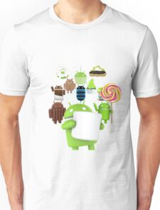 11 Androids Unisex T-Shirt