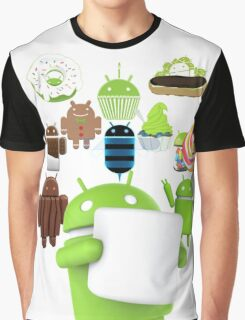 11 Androids Graphic T-Shirt
