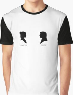 sw - han and leia Graphic T-Shirt