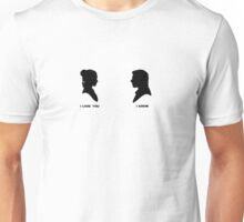 sw - han and leia Unisex T-Shirt