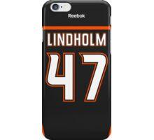 Anaheim Ducks Hampus Lindholm Jersey Back Phone Case iPhone Case/Skin