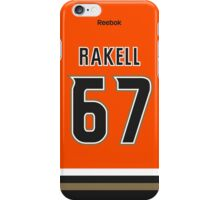 Anaheim Ducks Rickard Rakell Alternate Jersey Back Phone Case iPhone Case/Skin