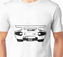 lamborghini contach 5000 backend Unisex T-Shirt