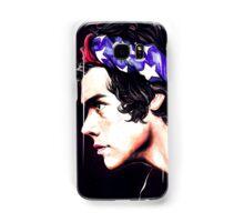 Harry Styles - American flag Samsung Galaxy Case/Skin