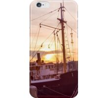 Evening At The Seaport iPhone Case/Skin