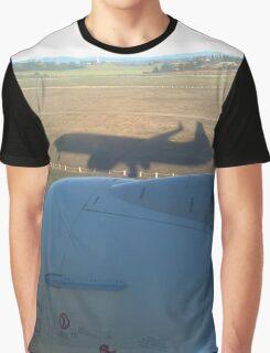 Shadow plane Graphic T-Shirt