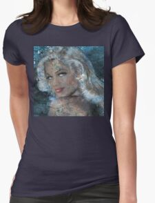 Queen Of Ice Womens Fitted T-Shirt