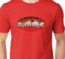 Support your local business! black red red Unisex T-Shirt