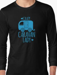 Crazy Caravan Lady Long Sleeve T-Shirt