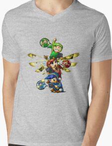zelda Mens V-Neck T-Shirt