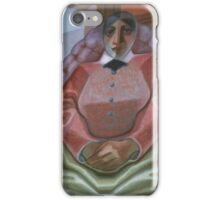 Juan Gris,  WOMAN IN AN ARMCHAIR iPhone Case/Skin