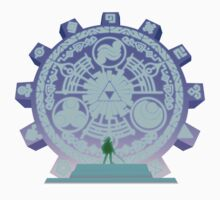 The Legend of Zelda - Door of Time Kids Tee