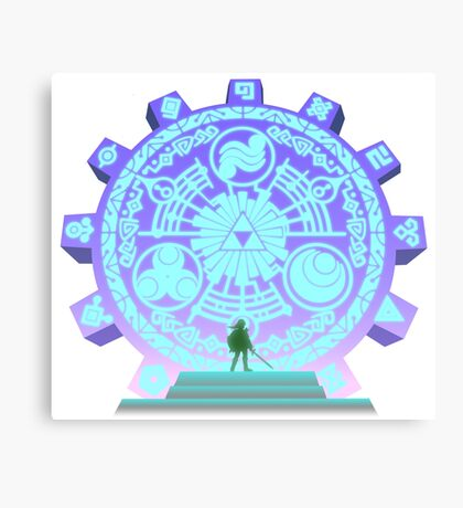 The Legend of Zelda - Door of Time Canvas Print