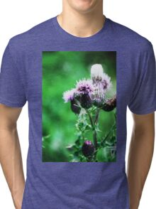 Thistle-in' a Second Tune Tri-blend T-Shirt