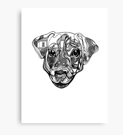 Nure- the dog Canvas Print