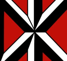 Retro Punk Restyling Dead kennedys Sticker