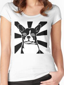 Angel Dog Women's Fitted Scoop T-Shirt
