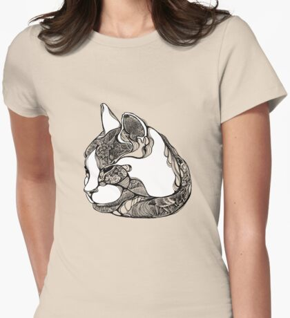 charlie ok  Womens Fitted T-Shirt