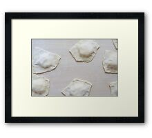 Raw Baratfule Sweet Pastry Framed Print