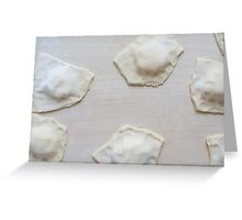 Raw Baratfule Sweet Pastry Greeting Card