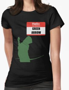 My name is arrow Womens Fitted T-Shirt