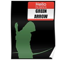 My name is arrow Poster